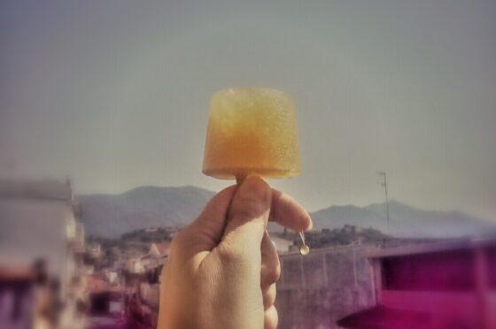 CUCINA: Ghiaccioli all'arancia