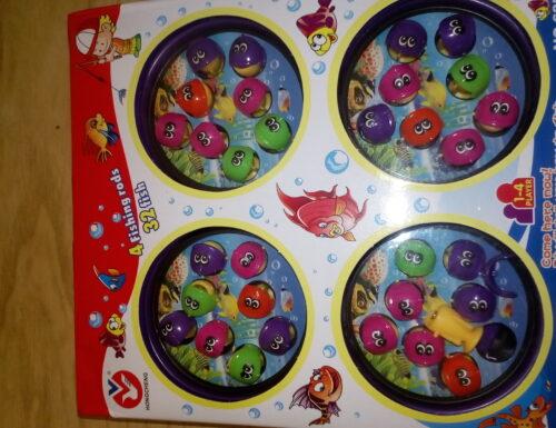 #REVIEW:Gioco Pesca Magnetica con 4 Piastre Giochi Elettronici Giocattoli Musicali per Bambini, Colore Casuale