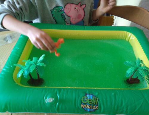 COLLABORAZIONE: Zimpli kids Gelli Worlds Dino pack