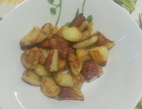 CUCINA:Patate in padella croccanti