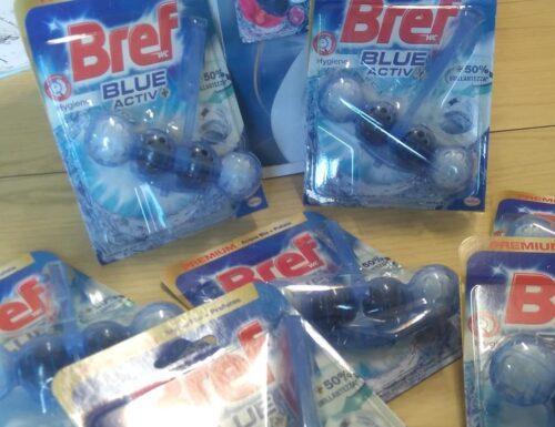 TESTER: BREF BLUE ACTIV+