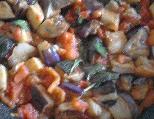 CUCINA:Melanzane a funghetto