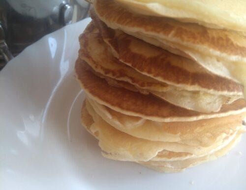 CUCINA:PANCAKES ricetta classica