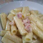 CUCINA: Pasta con crema di pomodorini gialli e pancetta